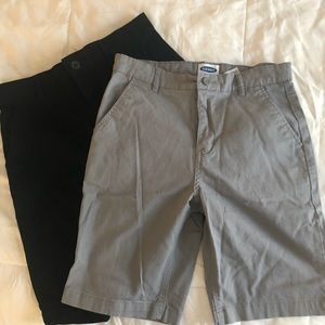 2 pairs Chino Old Navy Shorts